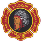 City of Keokuk - Fire Department Patch